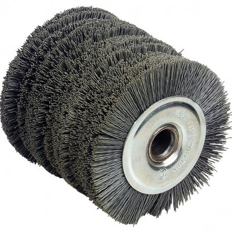 Cepillo nylon 120 x 100 mm para lijadora renovadora