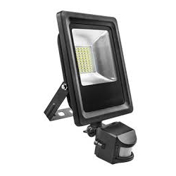 Proyector led plano matel sensor 10w luz fria 6400 k 1000 lumens