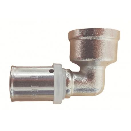 Codo hembra press fitting serie 6705- 20x3/4