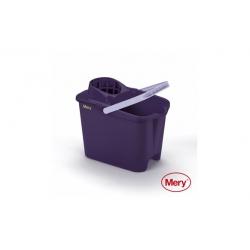 Cubo de fregar mery lila 14l