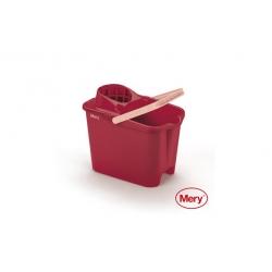 Cubo de fregar mery rojo 14l