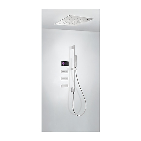 Kit electrónico de ducha termostático empotrado shower technology