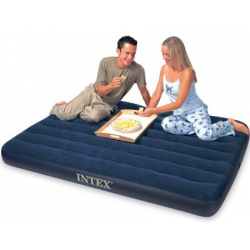 Colchon hinchable intex doble 137x191x22 cm