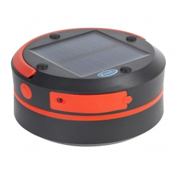 Linterna solar travel light rojo/verde ø8,4 x 11,5