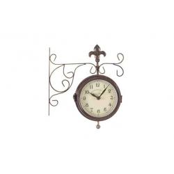 Reloj doble cara con termometro