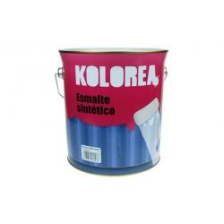 Esmalte kolorea sintetico satinado blanco 4 l