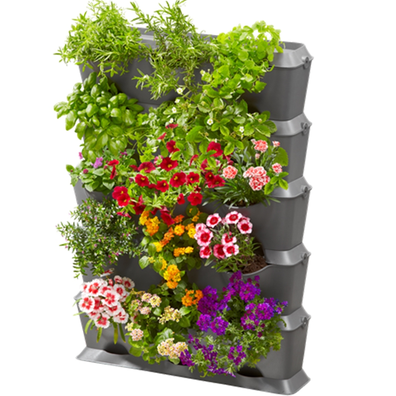 kit macetas jardin vertical nature up jardin