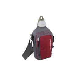 Cantimplora flex 1 lt picnic granate/gris
