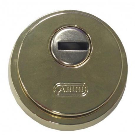 Escudo de seguridad abus Ø 65 mm dorado