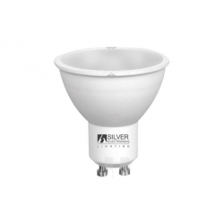 Lampara dicroica eco led 381lm (pack 4un) gu10 5w 6000k