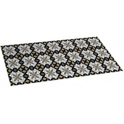 Alfombra vinilica 50 x 110 hidra-negro
