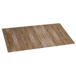Alfombra vinilica 50 x 110 wood gris
