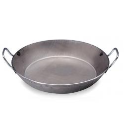 Paellera hierro carbone + de buyer 40 cm