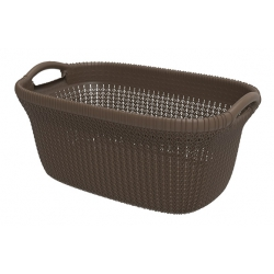 Cesta knit curver chocolate