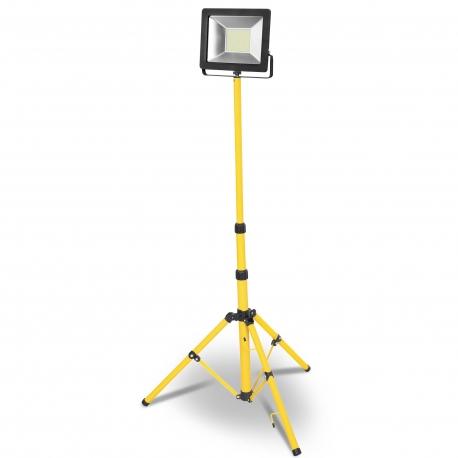 Proyector led con tripode 30w luz fria