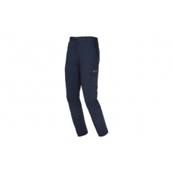 Pantalon largo stretch easy starter azul t-l