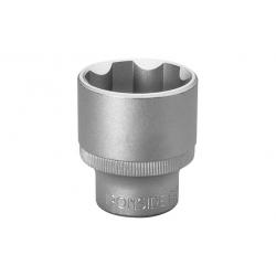 Llave vaso 1/2 cv ironside 9 mm satinado