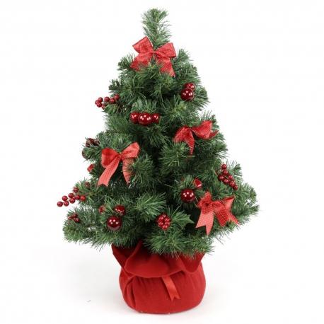 Imagenes Lazos De Navidad.Arbol Navidad Lazos 65 Cm