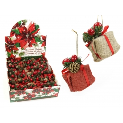 Colgante Navidad paquete regalo