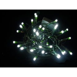Luces led navidad 100 fijas blanco 35863