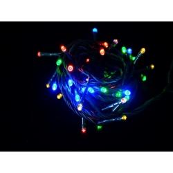 Luces led navidad 100 fijas multicolor