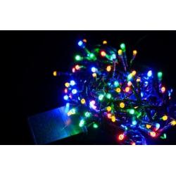 Luces led navidad 100 8 funciones multicolor 35874