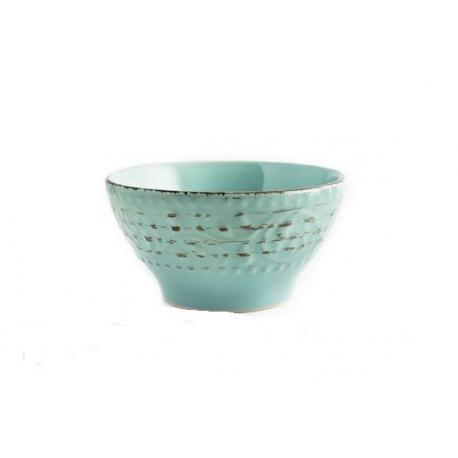 Bol stoneware courtyard azul 15 cm