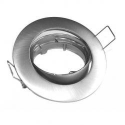 Aro circular basculante niquel mate (gu10 incl)