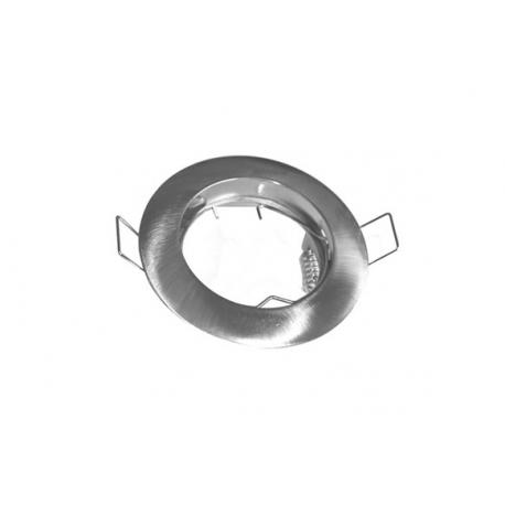 Aro circular fijo niquel satinado