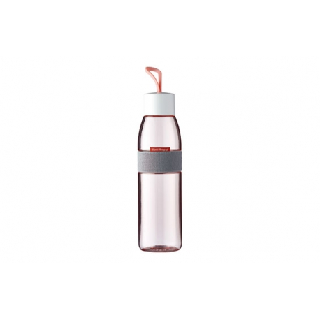 Botella para agua ellipse 500 ml rosa nordico