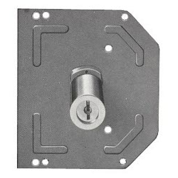 Ezcurra M110901 Cilindro seguridad cromado mate ds15-70 descentrado