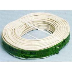 Cable manghera redonda h05vv-f 2x1 blancos