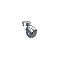 Rueda giratoria plastico gris 3-0020 alex