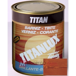 Barniz para madera 125 ml roble titan brillante