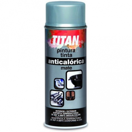 Pintura anticalor 400 ml spray aluminio