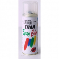 Pintura spray barniz para metales 400 ml incoloro titan