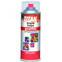 Limpiador pintura graffiti 400 ml spray incolor