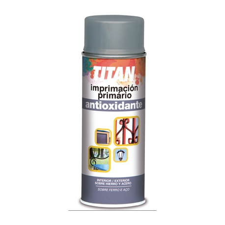 Imprimacion antioxido 200 ml spray rojo