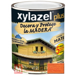 Barniz para madera 750 ml caoba xylazel plus mate