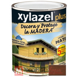 Barniz para madera 750 ml nogal xylazel plus mate