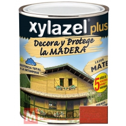 Barniz para madera 375 ml teca xylazel plus mate