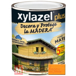 Barniz para madera 750 ml pino oregon xylazel plus mate