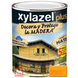 Barniz para madera 750 ml pino tea xylazel plus mate