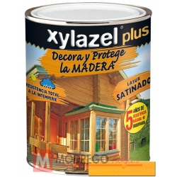 Barniz para madera 375 ml pino tea xylazel plus satinado
