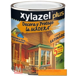 Barniz para madera 375 ml roble claro xylazel plus satinado