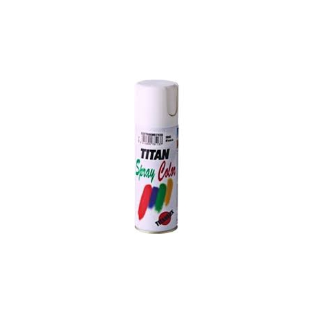 Esmalte satinado 400 ml spray blanco