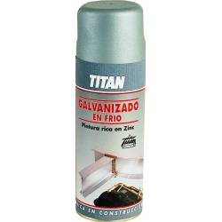 Galvanizado frio 400 ml spray gris
