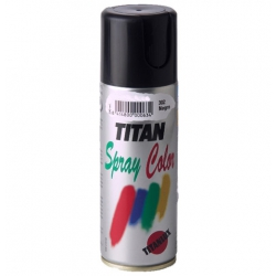 Esmalte satinado 400 ml spray negro
