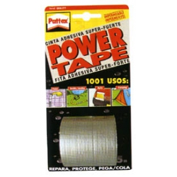 Cinta adhesiva pattex power tape 25 m gris