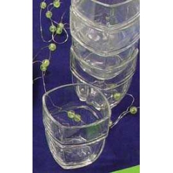 Vaso apilable olympie 20 cl pack 4 unidades